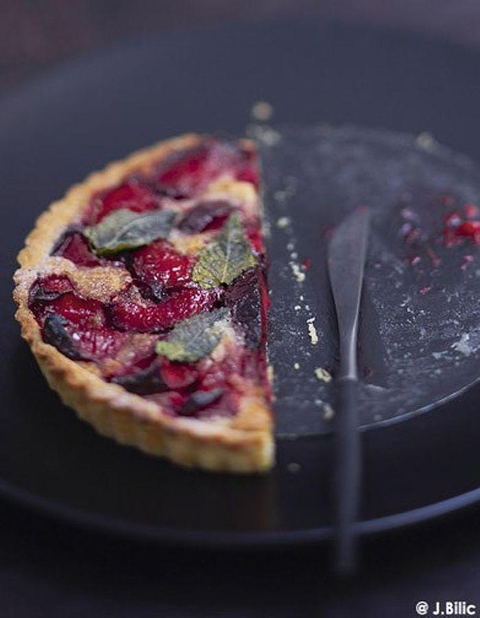 tarte aux prunes 50 id 233 es de tartes faciles 224 table