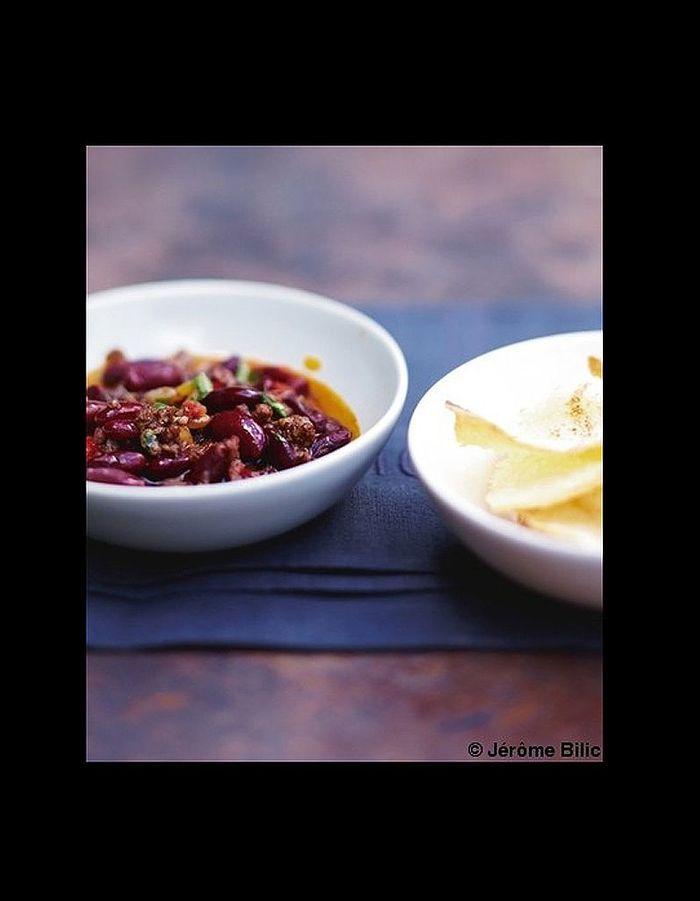 Chili con carne les meilleures recettes mijot es elle table - Recette chili cone carne thermomix ...