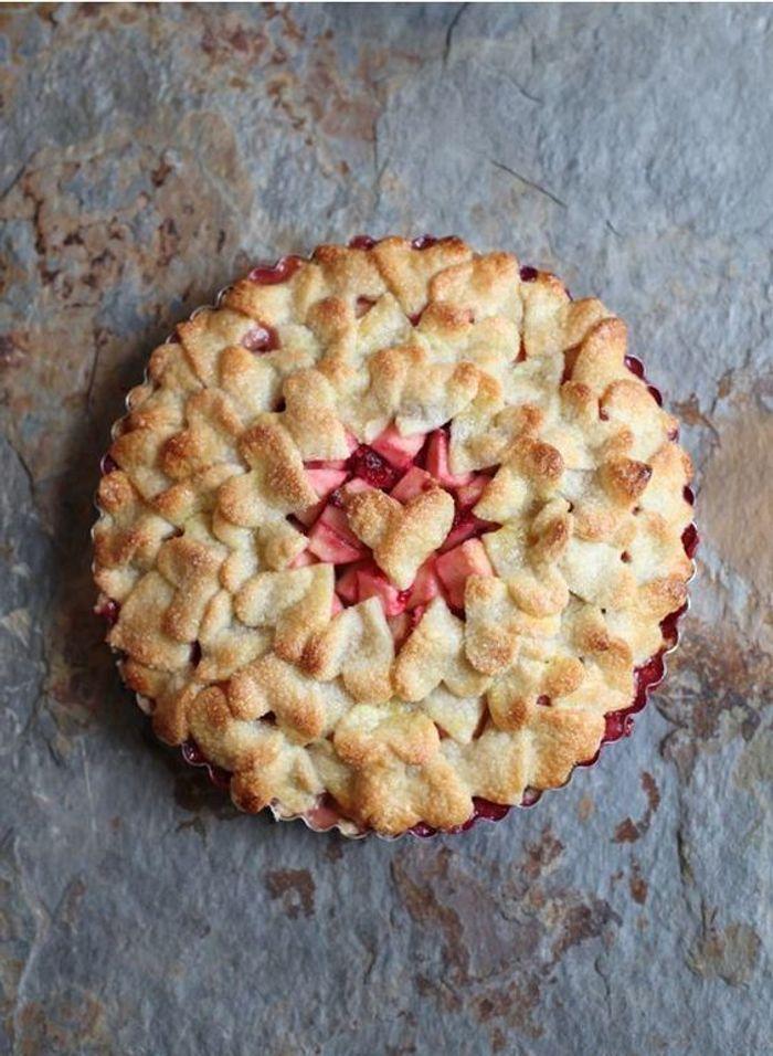 Décoration de tarte Saint-Valentin