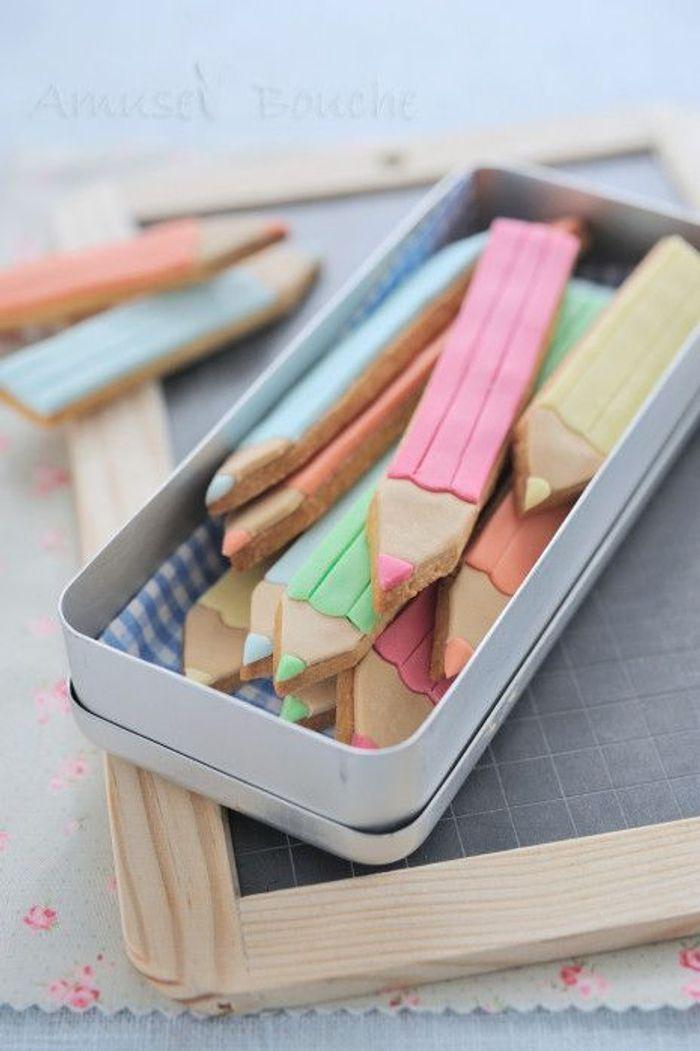 Biscuits crayons