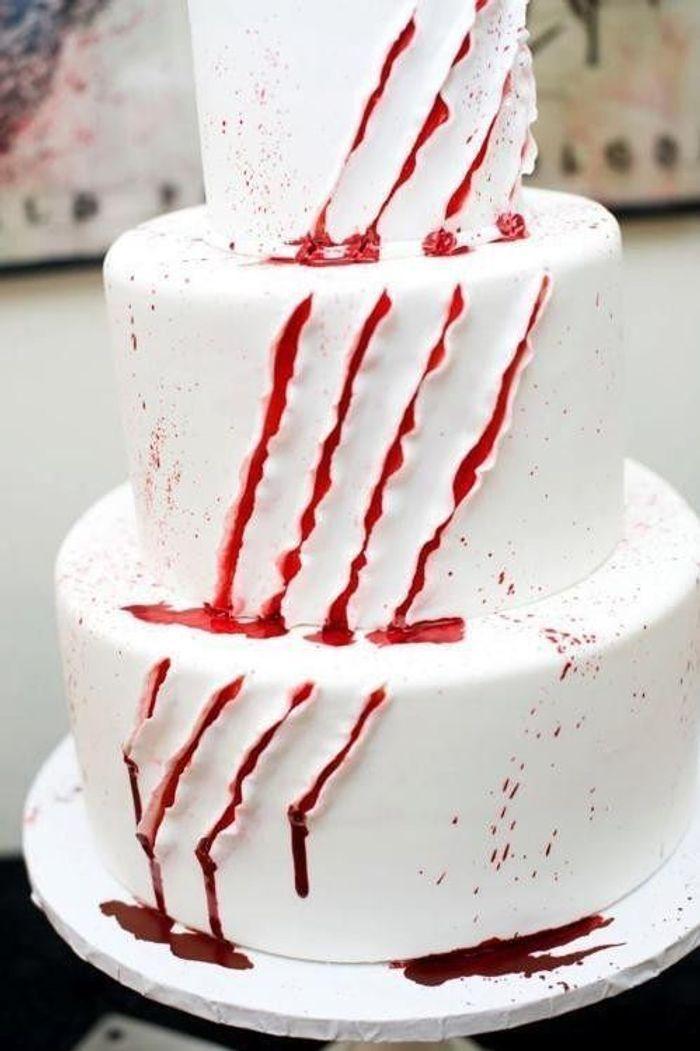 Gâteau halloween à étages