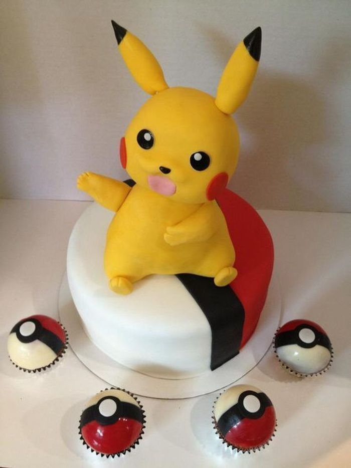Gateau Pokemon Pikachu