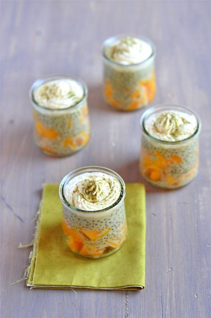 Perles du japon au th vert et la mangue pause sucr e avec les perles du japon elle table - Confiture de nefles du japon ...