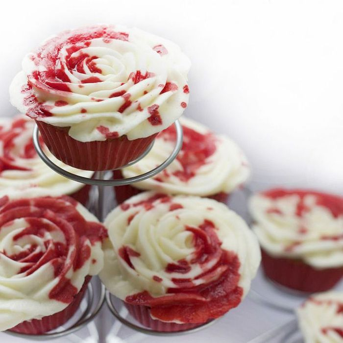 Rose cake chantilly
