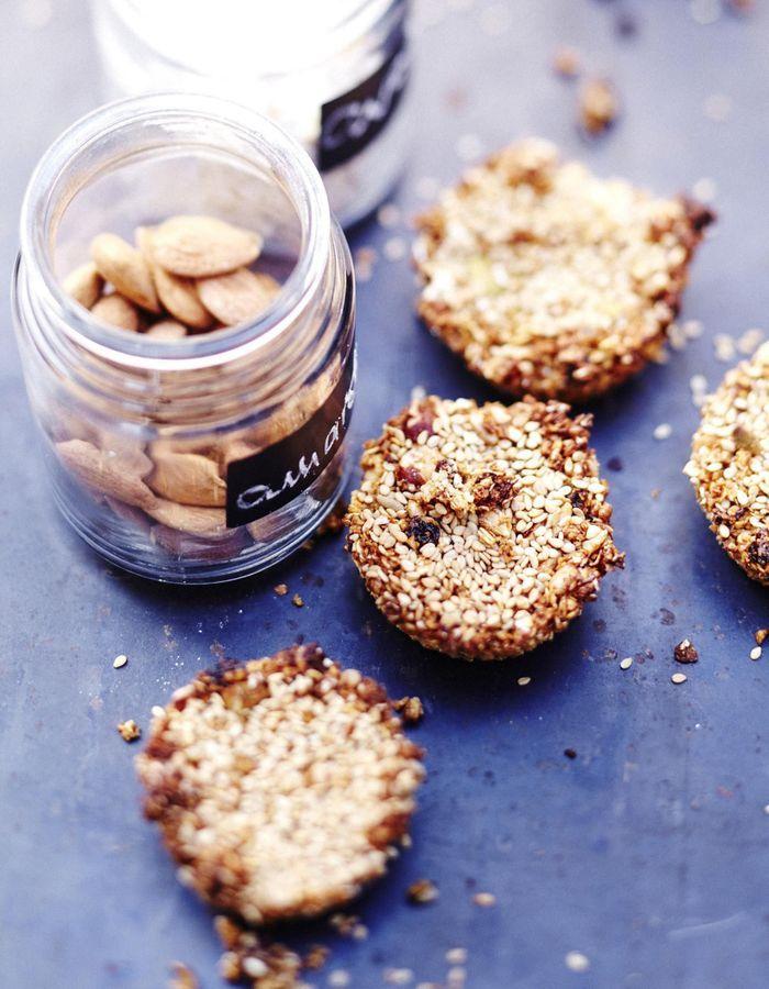 Muffins au muesli et sésame