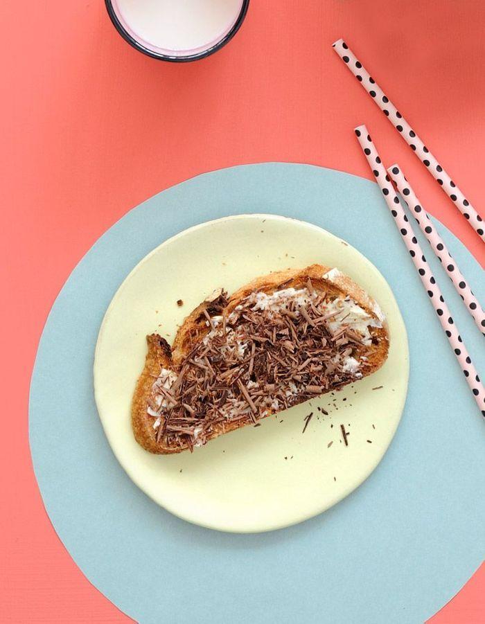 Tartine beurre chocolat
