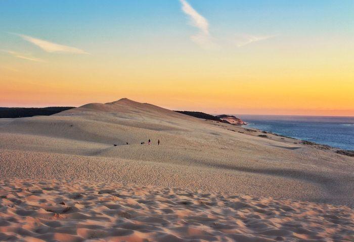 Depuis la dune du pilat 10 lieux magiques o admirer le coucher du soleil partout en france elle - Hotel dune du pilat ...