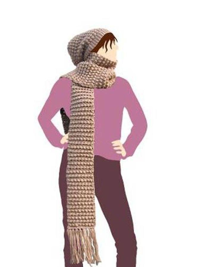 Accessoires en mailles kit i love tricot debutante bonnet echarpe accessoires il faut que a - Monter mailles tricot debutant ...