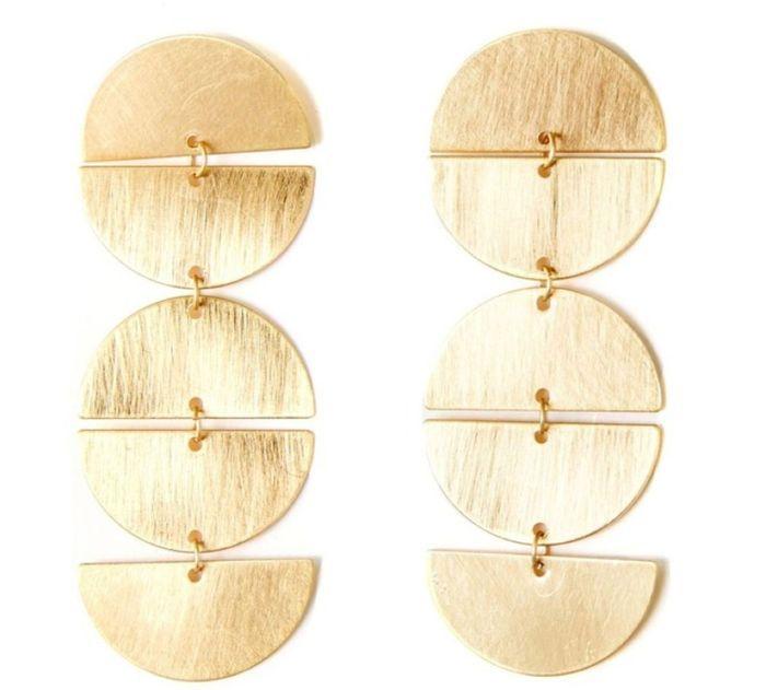 Boucles d'oreilles géométriques La Redoute
