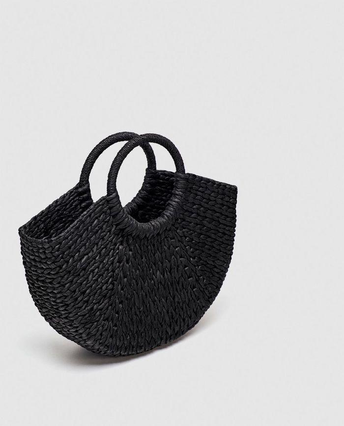 Panier noir Zara