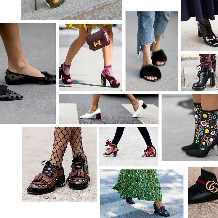 Les plus belles chaussures repérées à la Fashion Week