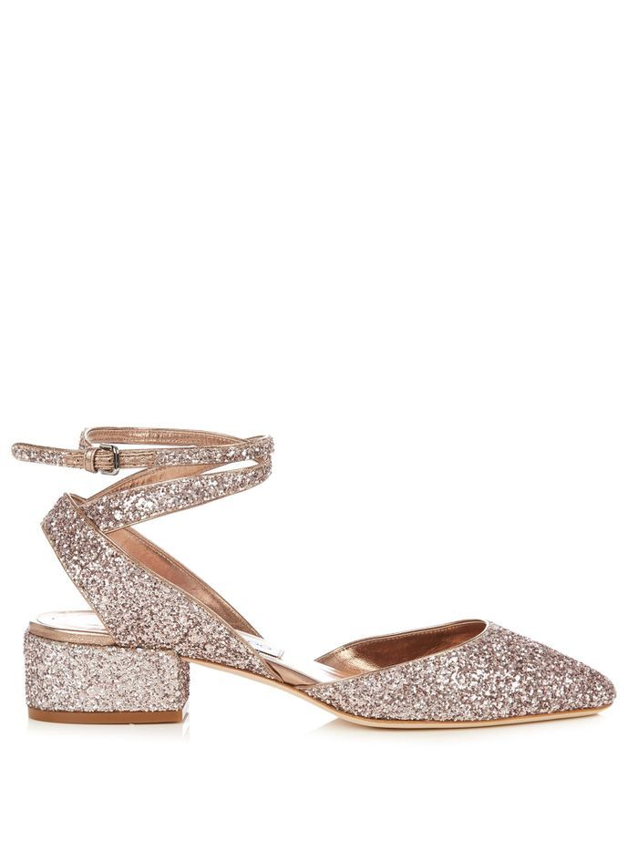 chaussures paillettes jimmy choo 30 paires de chaussures paillettes qui en jettent elle. Black Bedroom Furniture Sets. Home Design Ideas