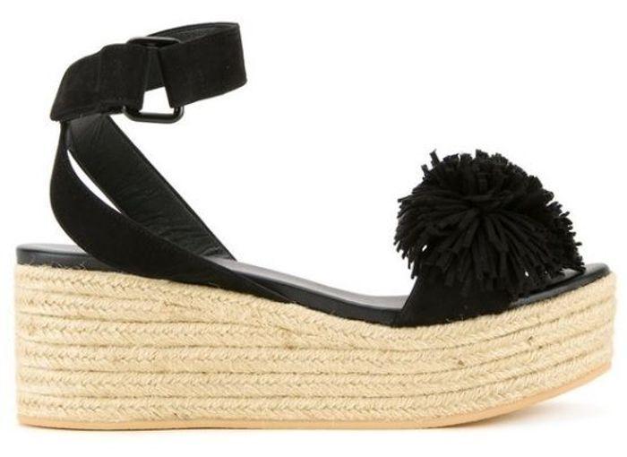 Sandales à plateforme Muveil