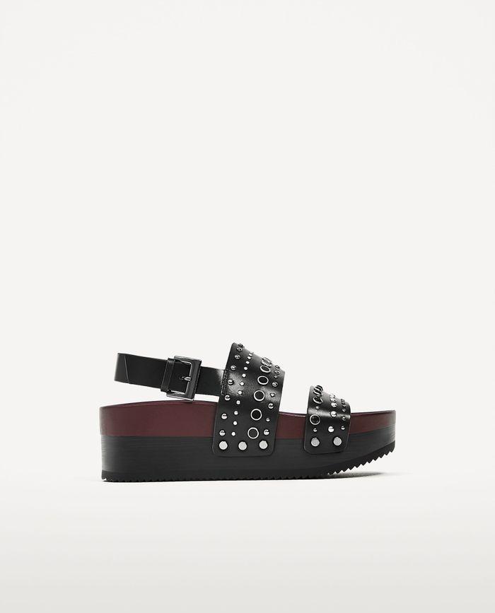 Sandales à plateforme Zara