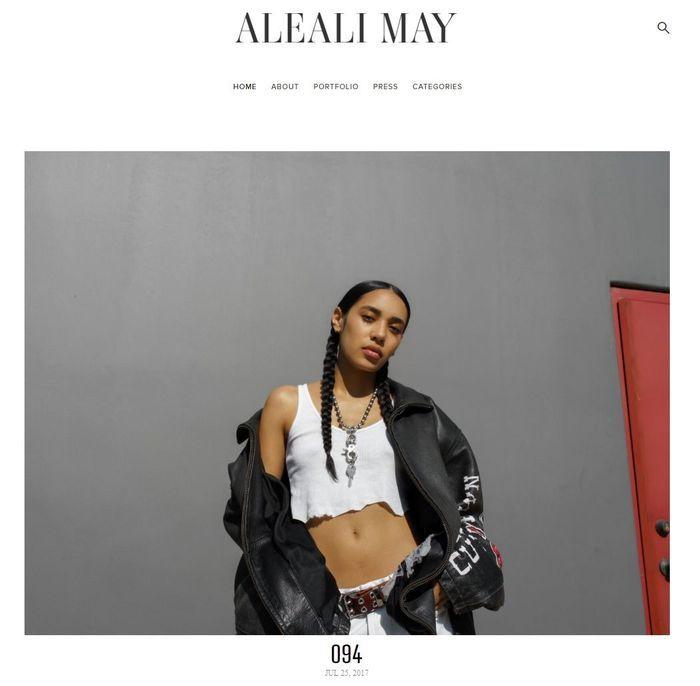Aleali May
