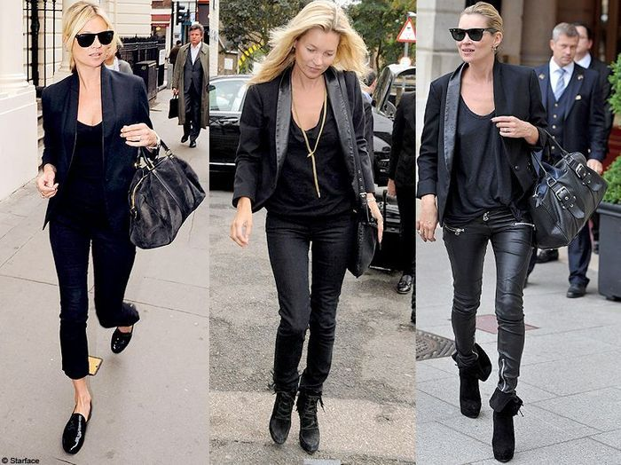 kate moss rock en slim fashion fixette le blazer de kate moss elle. Black Bedroom Furniture Sets. Home Design Ideas