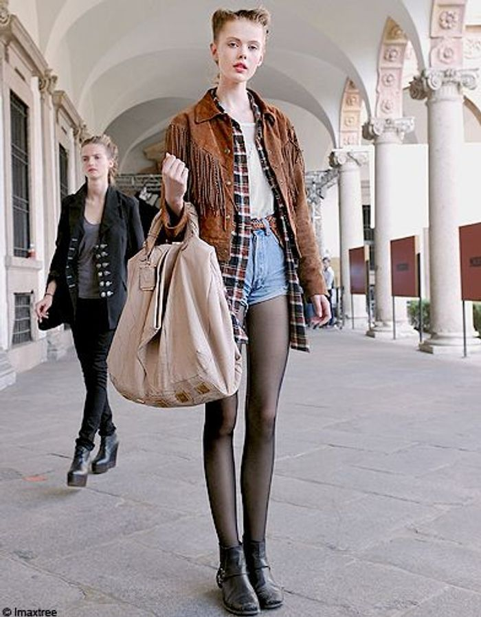 Mode Street Style Look Tendance Sexy En Hiver Country Girl
