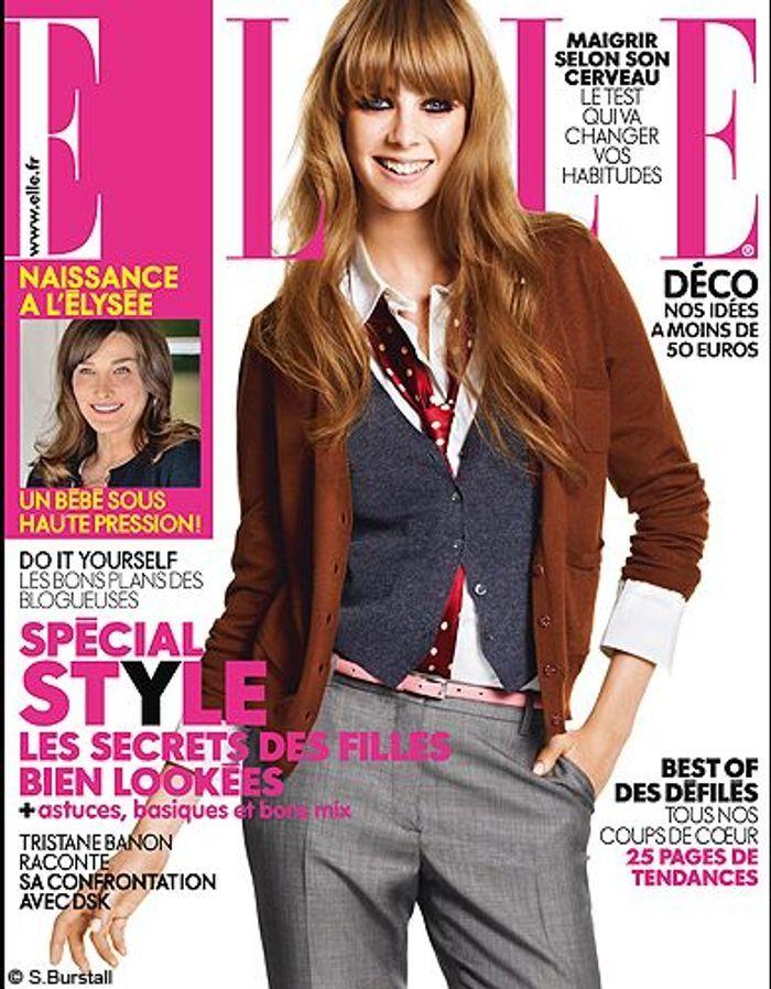 couverture elle magazine 2011 les plus belles couvertures de elle c l brent la journ e. Black Bedroom Furniture Sets. Home Design Ideas