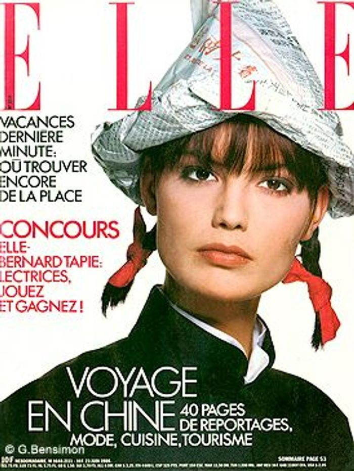 avril 1986 on s 39 inspire de la mode des ann es 80 elle. Black Bedroom Furniture Sets. Home Design Ideas