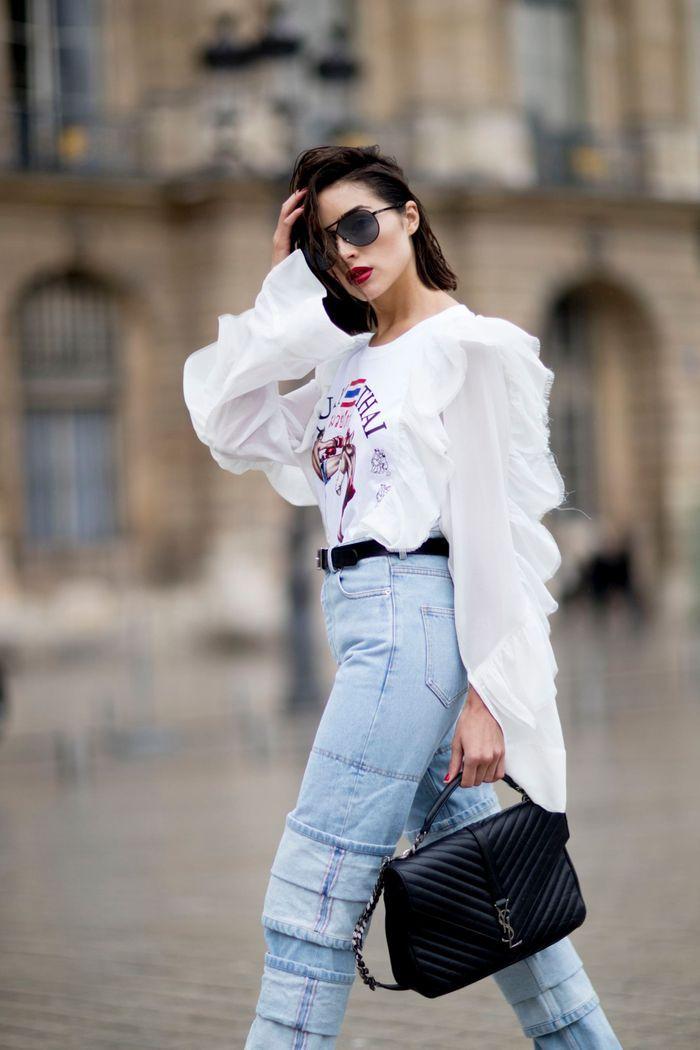 Un jean à étages