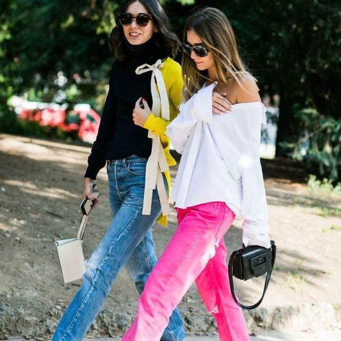 On veut un jean de couleur !