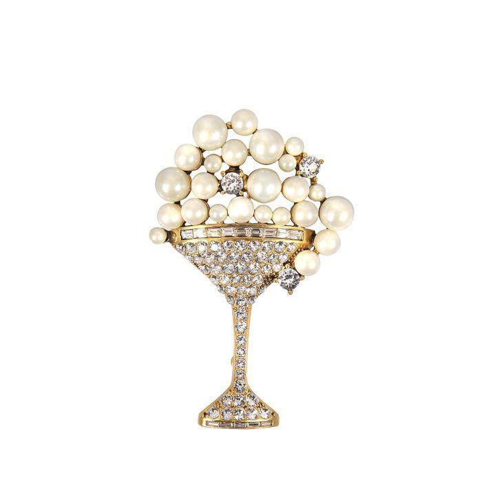 Broche à perles Marc By Marc Jacob