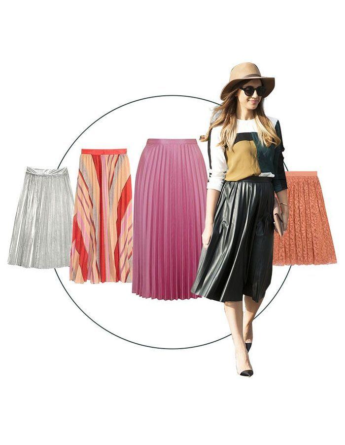 jupe pliss soleil 11 jupes pliss soleil pour femme les plus styl es elle. Black Bedroom Furniture Sets. Home Design Ideas