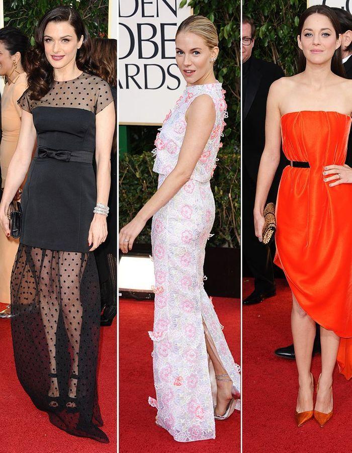 Golden Globes: les 10 looks préférés de la rédaction