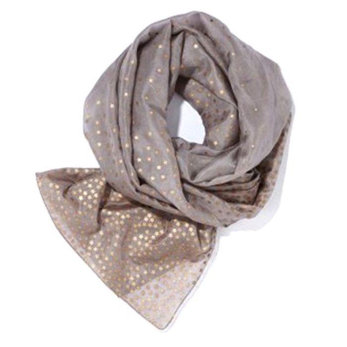 foulard la redoute look de f te 50 accessoires petits prix qui changent tout elle. Black Bedroom Furniture Sets. Home Design Ideas