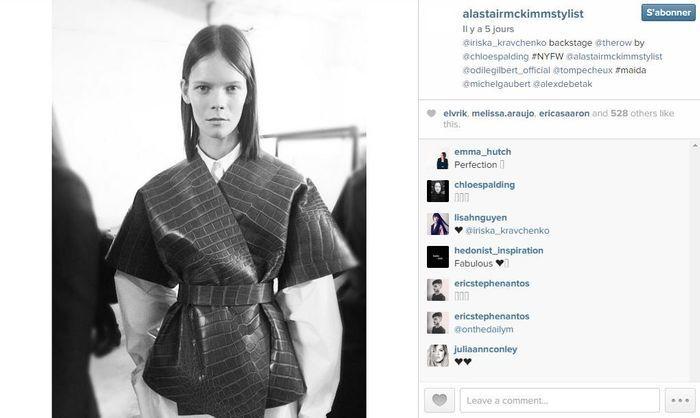 Alastair mckimm les 101 comptes instagram suivre pendant la fashion week elle - Qui suivre sur instagram ...