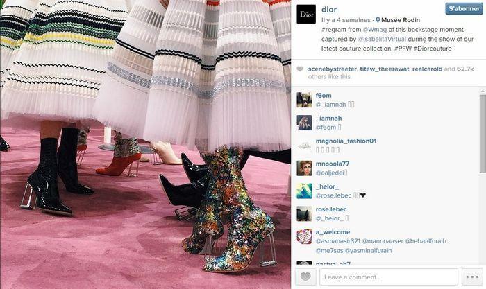 Dior les 101 comptes instagram suivre pendant la fashion week elle - Qui suivre sur instagram ...