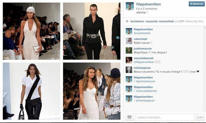 Filippa hamilton les 101 comptes instagram suivre pendant la fashion week elle - Qui suivre sur instagram ...