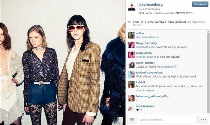 Jake rosenberg les 101 comptes instagram suivre pendant la fashion week elle - Qui suivre sur instagram ...