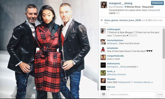 Margaret zhang les 101 comptes instagram suivre pendant la fashion week elle - Qui suivre sur instagram ...
