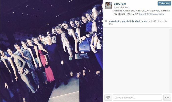 Olivier zahm les 101 comptes instagram suivre pendant la fashion week elle - Qui suivre sur instagram ...