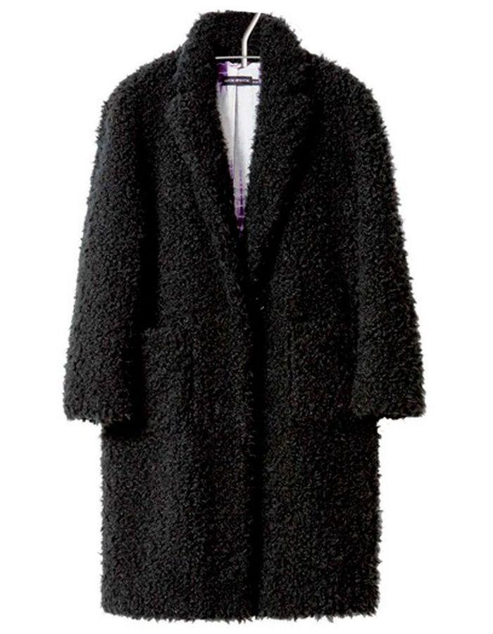 manteau en fausse fourrure noire antik batik 20 beaux. Black Bedroom Furniture Sets. Home Design Ideas