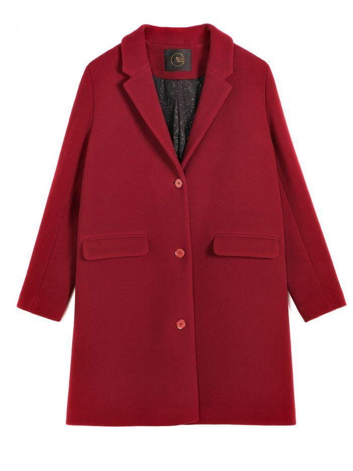 Manteau rouge mi long Des Petits Hauts