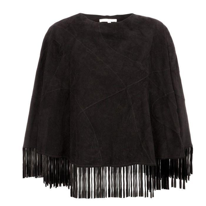 veste franges maje une veste franges pour jouer la cow girl elle. Black Bedroom Furniture Sets. Home Design Ideas