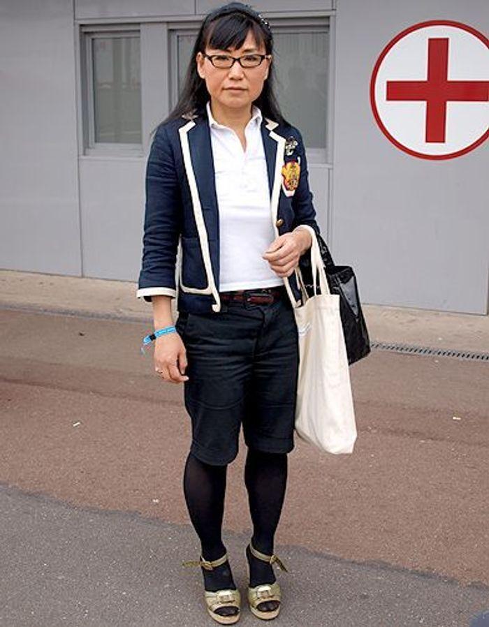 Junko d fil de fashionistas au salon who s next elle for Salon who s next