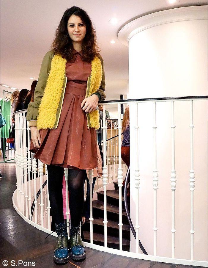robe et boots street style elles portent toutes du kenzo elle. Black Bedroom Furniture Sets. Home Design Ideas