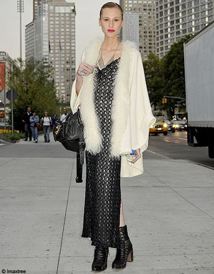 Mode Defiles New York Street Style 1 Fashion Week Les