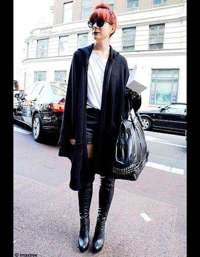 Mode Defiles Londres Street Style 13 Les Londoniennes Font Le Show La Fashion Week Elle