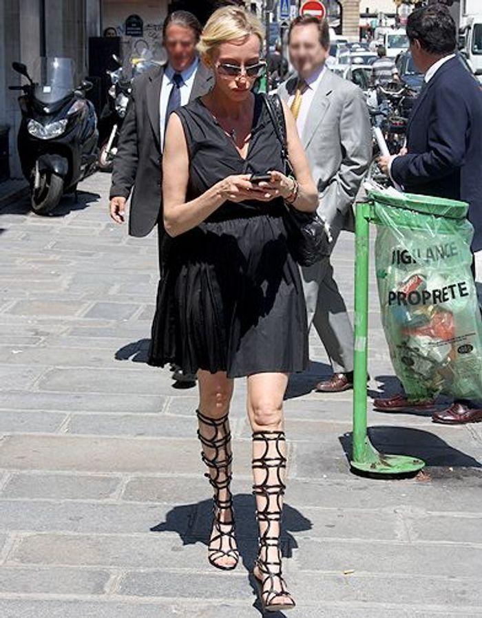 Mode diaporama look street style defiles Street look Jean Paul Gauthier 033