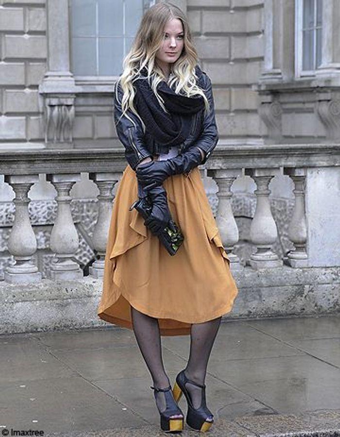 Street style  excentriques et chics à la Fashion week de Londres
