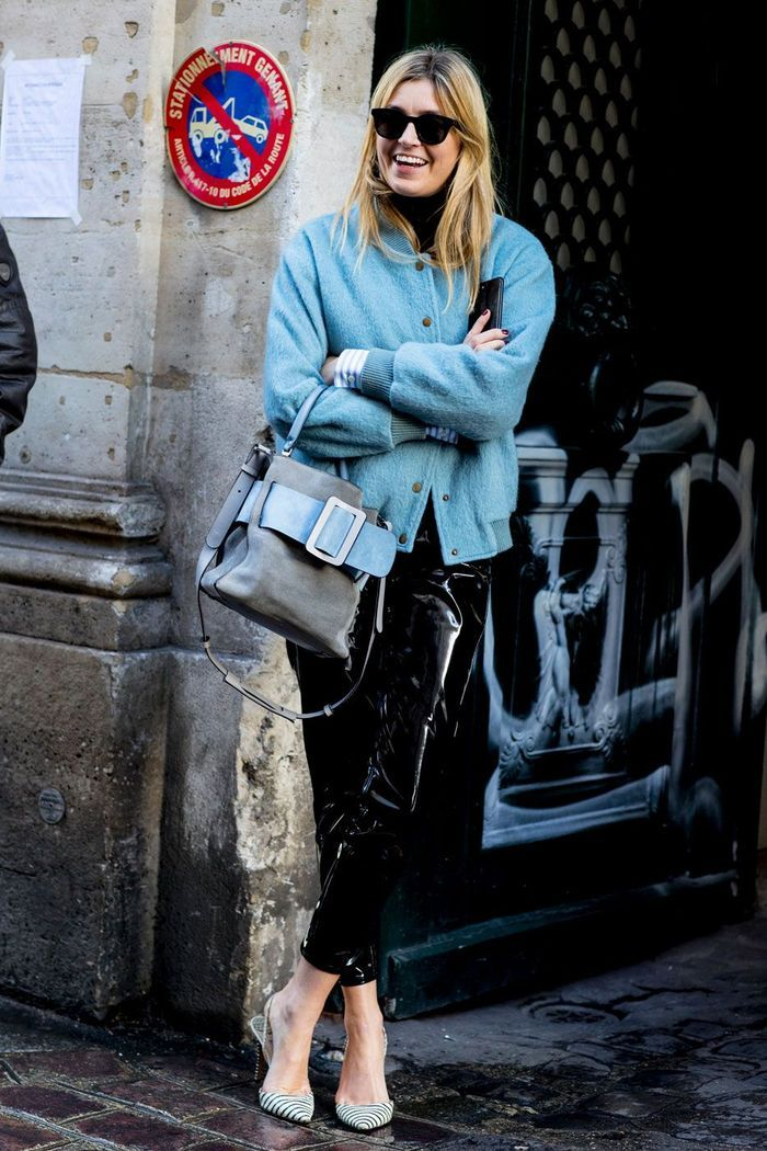 Street Style Paris Les Id Es Mode Piquer Aux Filles Styl Es Elle