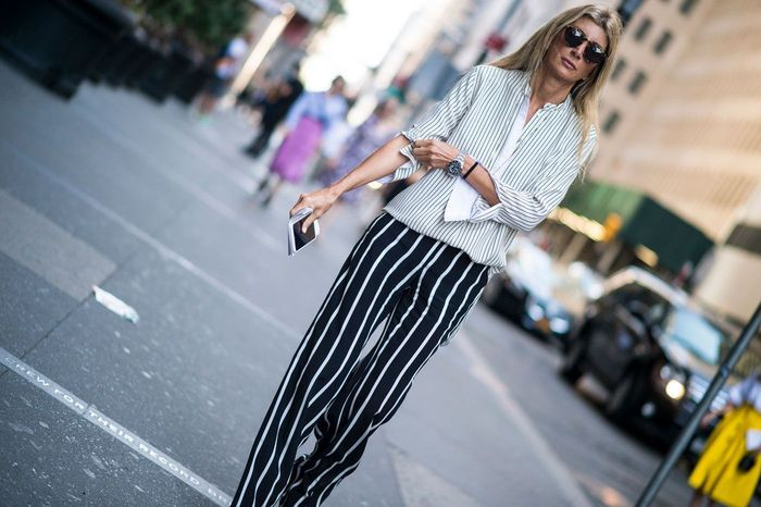 Sur un pantalon