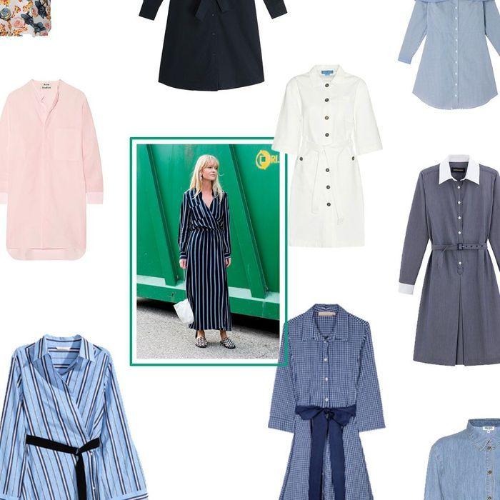 20 robes-chemises pour être chic et cool à la fois