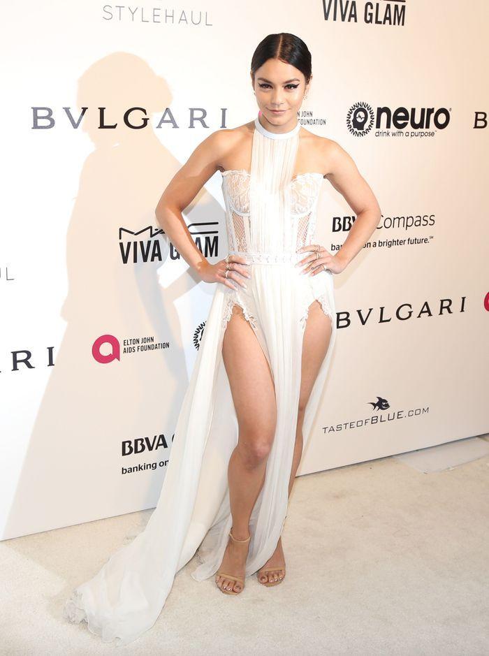La robe fendue de Vanessa Hudgens