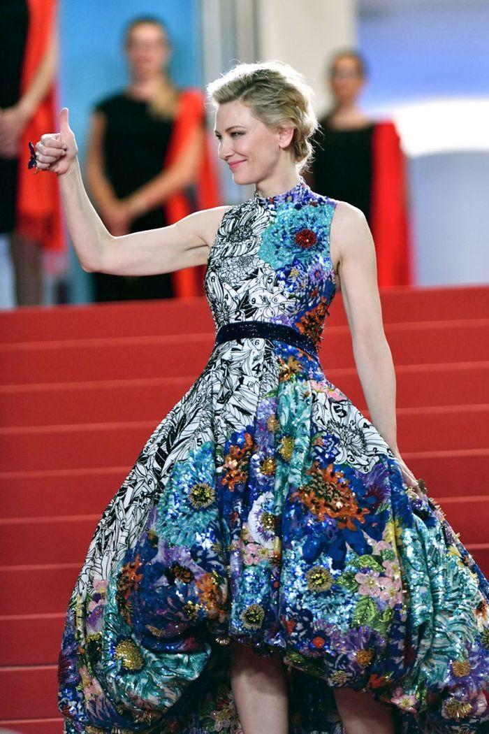 La robe originale de Cate Blanchett