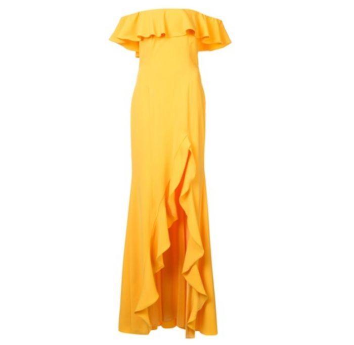 Robe jaune Jad Godfrey
